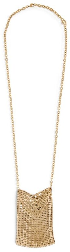 Paco Rabanne Pixel Chainmail Necklace