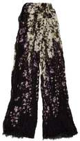 Yigal Azrouel Patterned Jersey Scarf