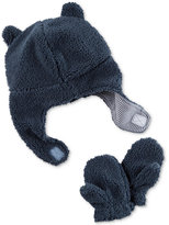 Carter's 2-Pc. Fleece Hat and Mittens Set, Baby Boys (0-24 months)