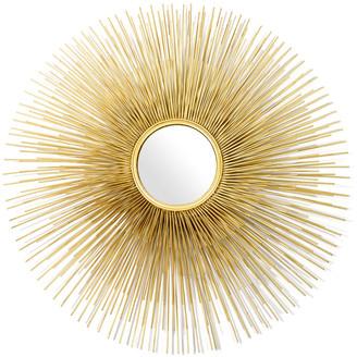 Pols Potten Round Prickle Mirror - Gold