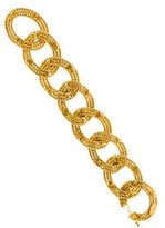 Chanel Twisted Chain Link Bracelet