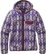 Patagonia Lightweight Snap-T Fleece Hooded Jacket - Women's