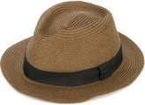 Diesel woven fedora - unisex - Polyester/Paper - 54