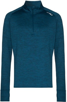 2XU Pursuit Thermal half-zip T-shirt