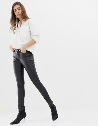 B.young super shiney coated jeans