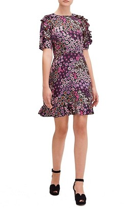 Kate Spade Pacific Petals Mini Dress