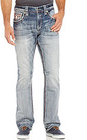 Rock Revival Raynon Straight-Leg 5-Pocket Denim Jeans