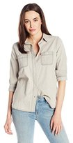 Levi's Women's Relaxed Boyfriend 2 Pocket Shirt
