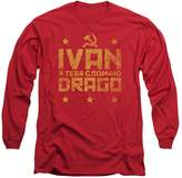 Rocky IV - Mens Drago Break Long Sleeve T-Shirt