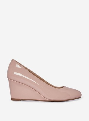 Dorothy Perkins Womens Wide Fit Beige 'Dreamer' Wedge Courts
