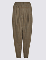 Limited Edition Checked Tapered Leg Trousers