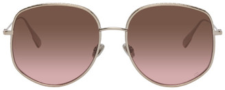 Christian Dior Gold DiorByDior2 Sunglasses