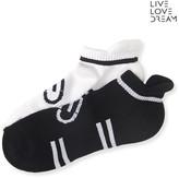 Aeropostale LLD 2-Pack Heart Icon Performance Socks
