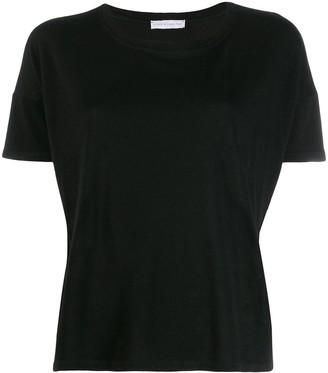 Fine Edge boyfriend round neck T-shirt