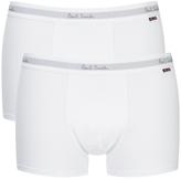 Paul Smith Men's 2 Pack Boxer Shorts White