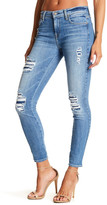 7 For All Mankind The Ankle Distressed Skinny Jean