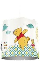 Philips Disney Winnie the Pooh Children's Ceiling Pendant Lightshade, Multi-Colour