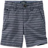 Osh Kosh Striped Flat-Front Shorts