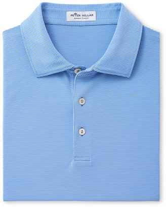Peter Millar Men's Jubilee Striped Jersey Polo Shirt
