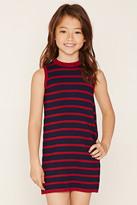 Forever 21 Girls Striped Tank Dress (Kids)
