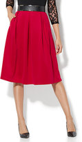 New York & Co. Pleated Full Skirt