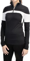 Bogner Glow Shirt - Zip Neck, Long Sleeve (For Women)