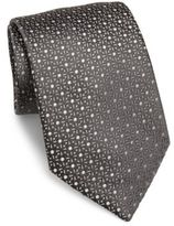Charvet Small Dot Silk Tie