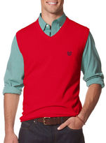 Chaps Combed Cotton Sweater Vest