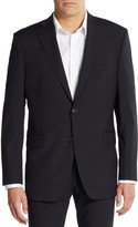 Saks Fifth Avenue Slim-Fit Wool Blazer