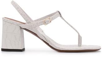 L'Autre Chose Thong chunky-heel sandals