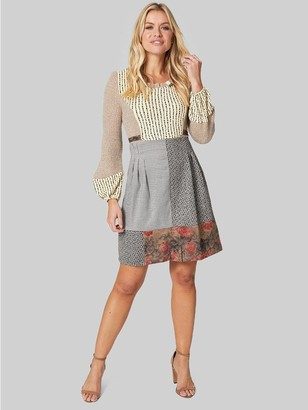 M&Co Izabel knitted 2 in 1 dress