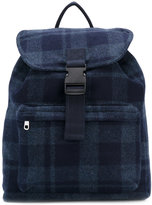 A.P.C. checked backpack