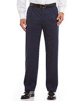 Hart Schaffner Marx Tailored Single-Pleat Chicago Wool Dress Pants