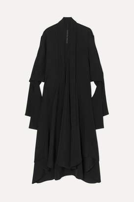 Petar Petrov Dillon Crepe Midi Dress - Black