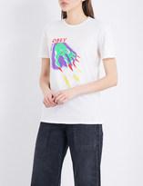 Obey Magic Hands cotton-jersey T-shirt