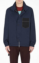 Marni MEN'S HARRINGTON COTTON OVERSIZED JACKET