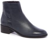 Tu clothing Premium Navy Leather Chelsea Boots