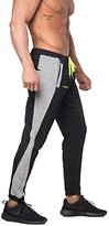 Jed North Men's Joggers Bodybuilding Slim Fit Tight Workout Sweat Pants