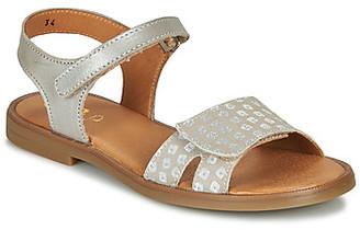 GBB CAVOLA girls's Sandals in Beige