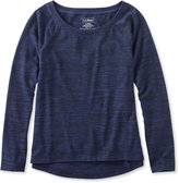L.L. Bean Beans Marled Performance Sweatshirt, Pullover