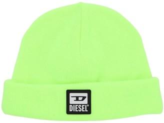 Diesel Tech Knit Beanie