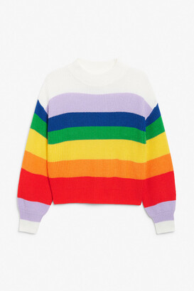 Monki Crew neck knit sweater