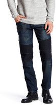 X-Ray Blue Moto Slim Fit Jean