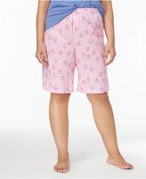 Hue Plus Size Bermuda Pajama Shorts
