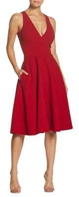 Dress the Population Catalina Classic Fit-&-Flare Dress
