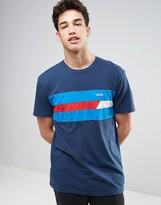 Vans Ninety Three Short Sleeve Crew T-Shirt In Blue Va316plkz