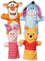 Melissa & Doug Winnie the Pooh Soft Hand Puppets by