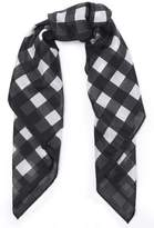 Rag & Bone Gingham Cotton And Silk-Blend Voile Scarf