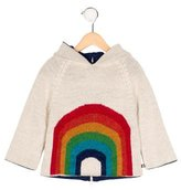 Oeuf Girls' Baby Alpaca Rainbow Sweater