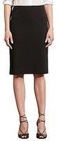 Lauren Ralph Lauren Stretch Twill Pencil Skirt